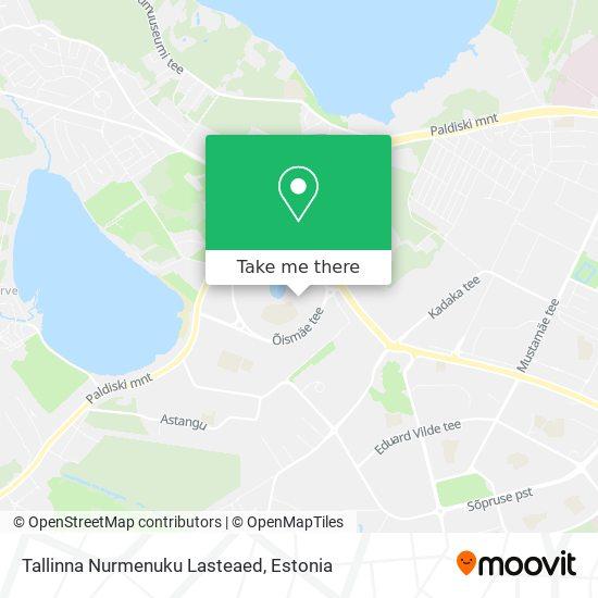 Tallinna Nurmenuku Lasteaed map