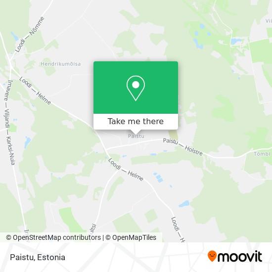 Paistu map