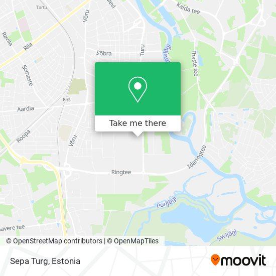 Sepa Turg map