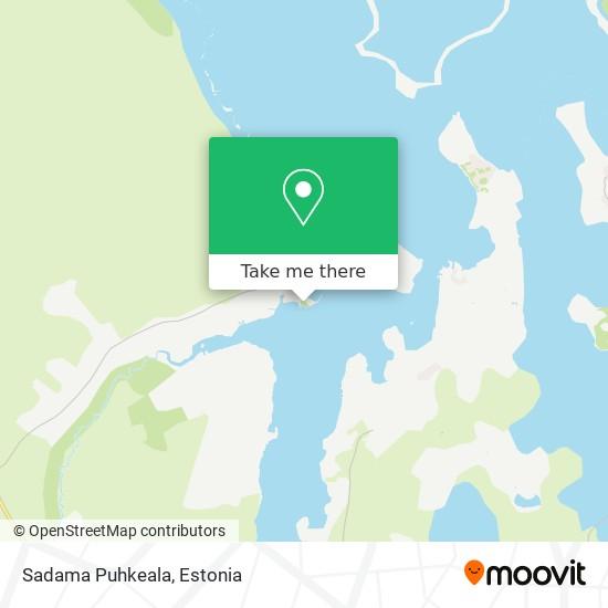 Sadama Puhkeala map