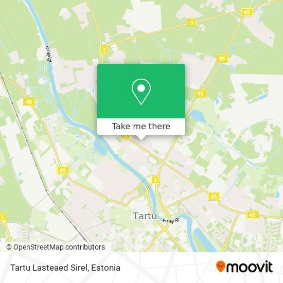 Tartu Lasteaed Sirel map