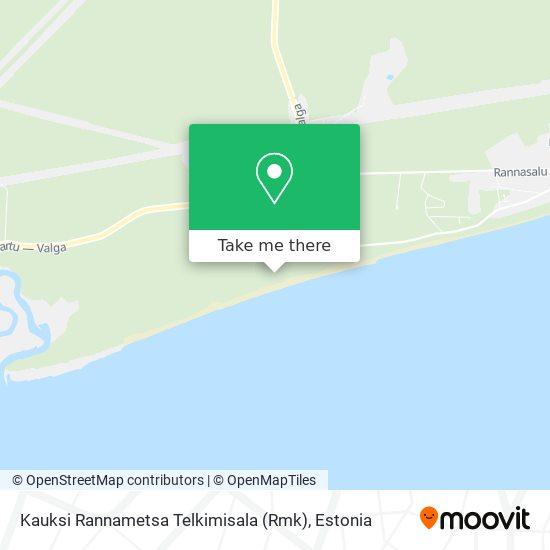 Kauksi Rannametsa Telkimisala (Rmk) map