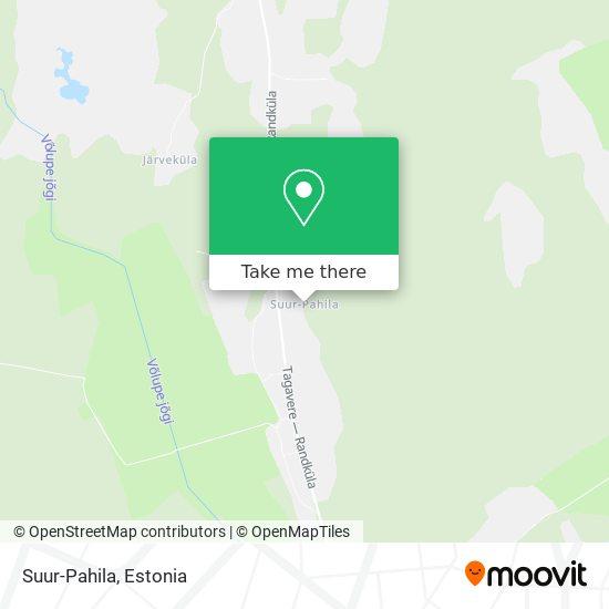 Suur-Pahila map
