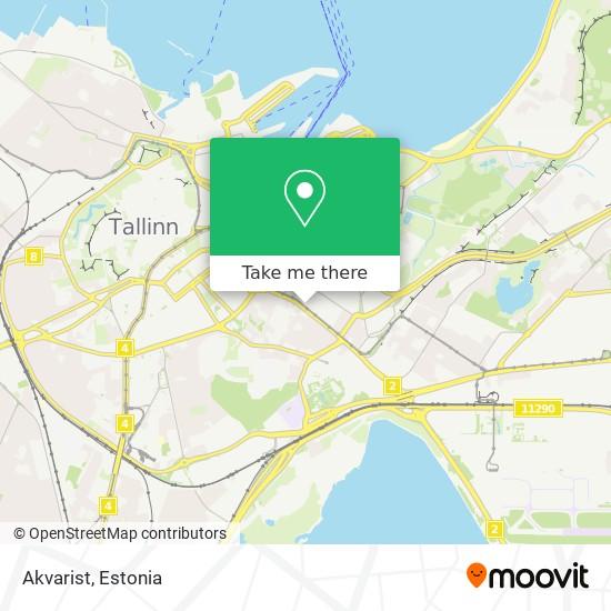 Akvarist map