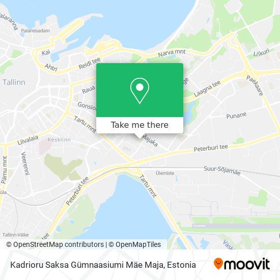 Tallinna Sikupilli Keskkool map