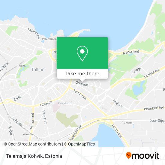 Telemaja Kohvik map