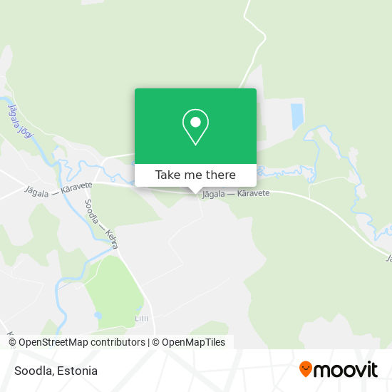Soodla map