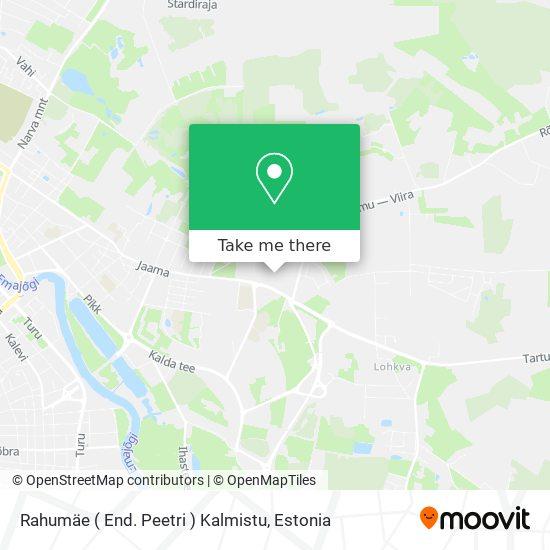 Rahumäe ( End. Peetri ) Kalmistu map
