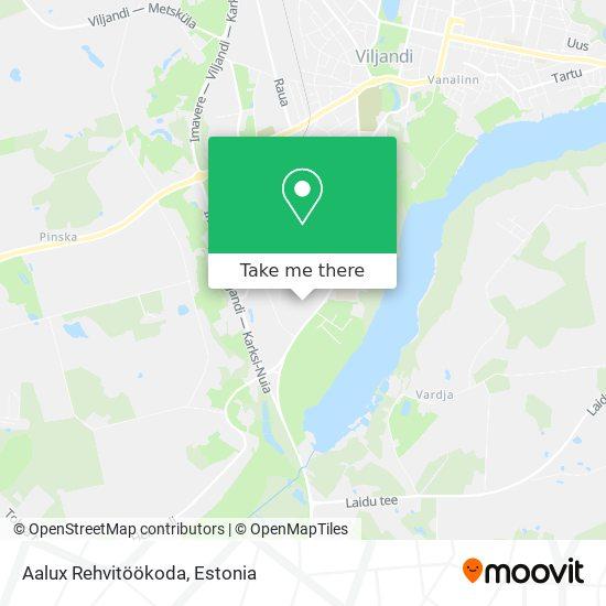 Aalux Rehvitöökoda map
