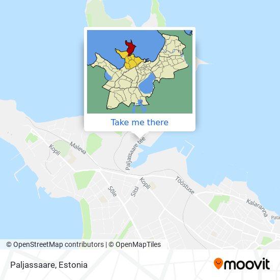 Paljassaare map