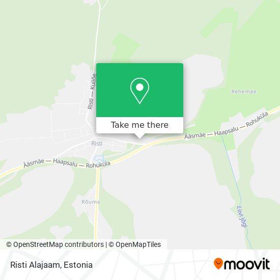 Risti Alajaam map