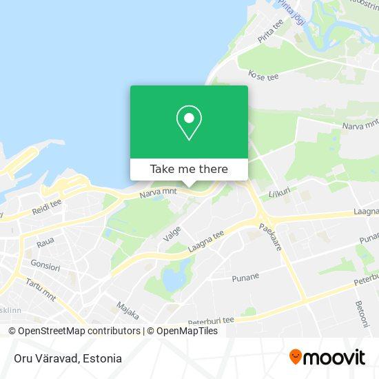 Oru Väravad map