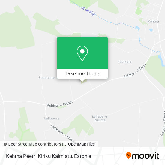 Kehtna Peetri Kiriku Kalmistu map