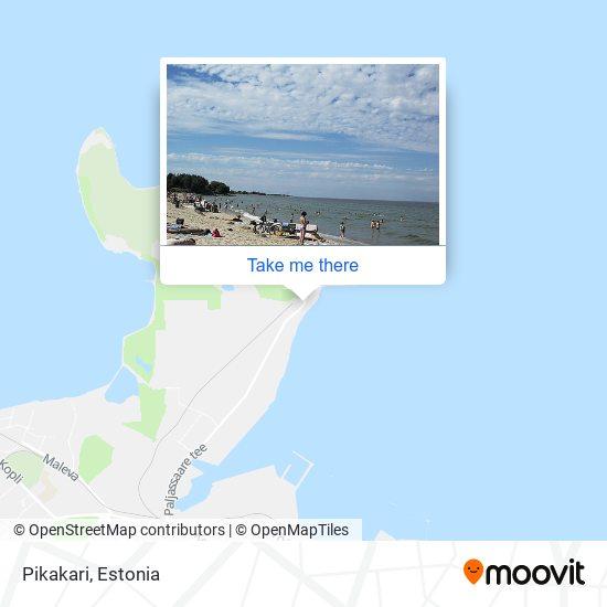 Pikakari map