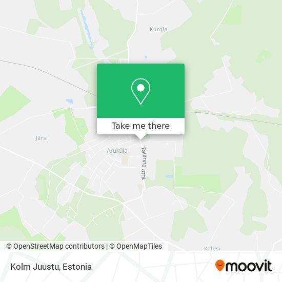 Aruküla Juuksur map