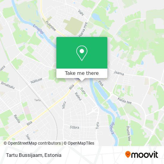 Tartu Bussijaam map