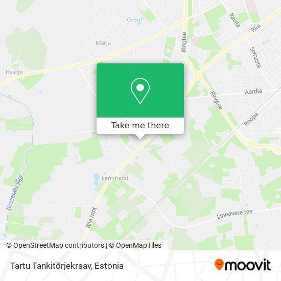 Tartu Tankitõrjekraav map