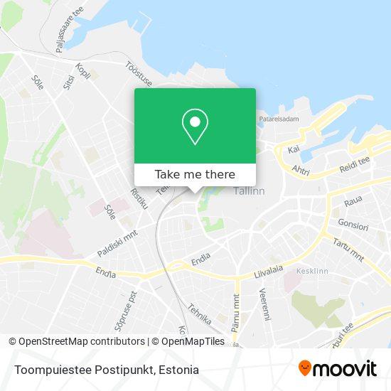 Põhja-Tallinna Kandekeskus map