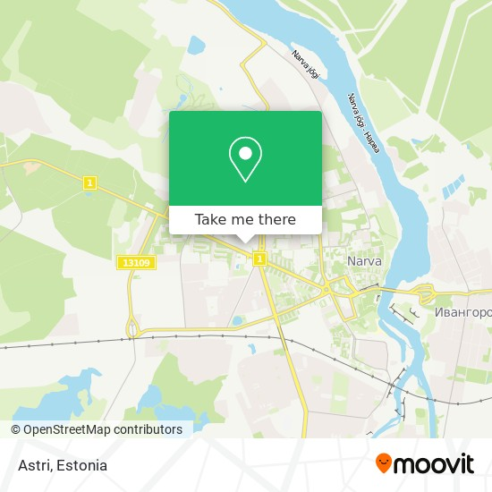 Astri map
