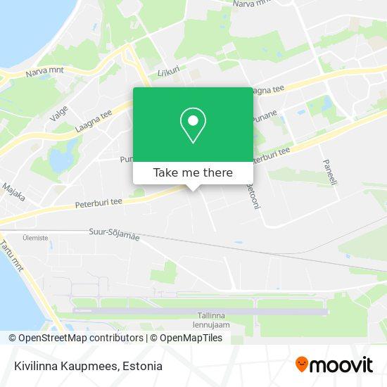 Kivilinna Kaupmees map