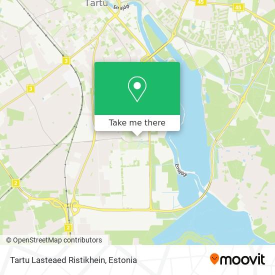 Tartu Lasteaed Ristikhein map