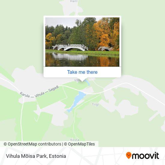 Vihula Mõisa Park map
