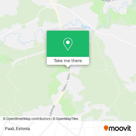 Paali map