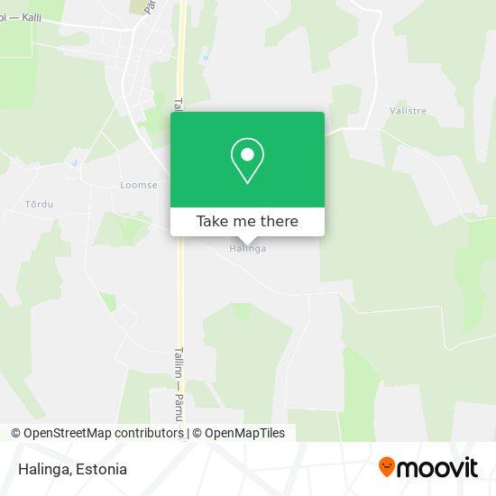 Halinga map