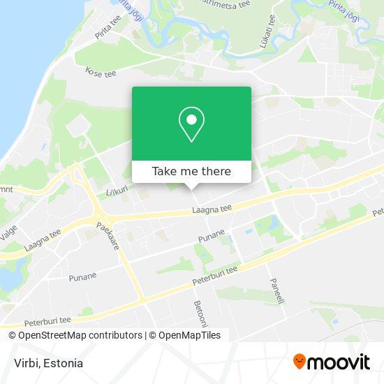 Virbi map