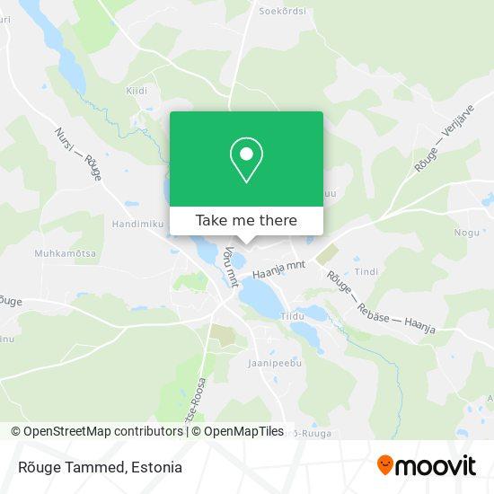 Rõuge Tammed map