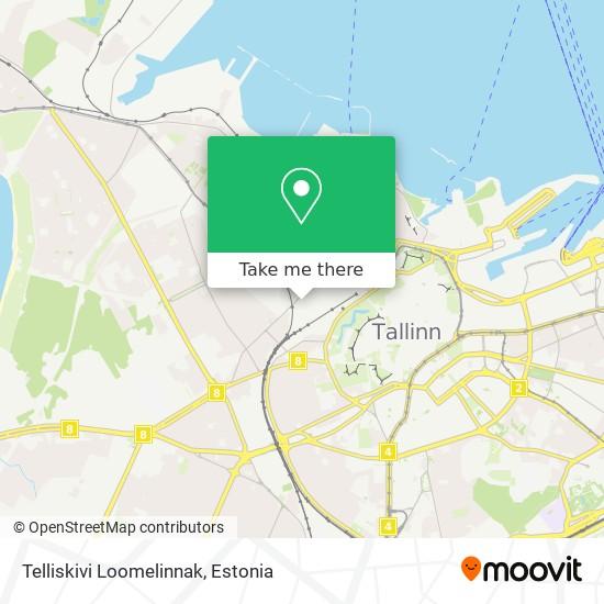 Telliskivi Loomelinnak map