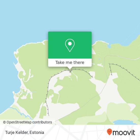 Turje Kelder map