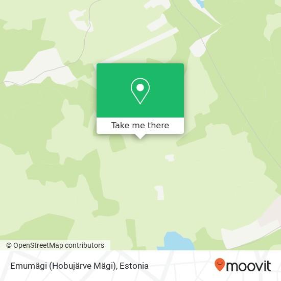 Emumägi (Hobujärve Mägi) map