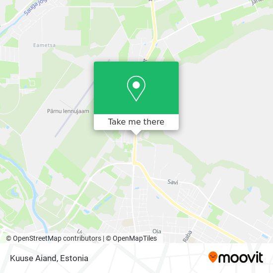 Kuuse Aiand map