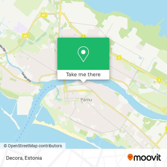 Decora map