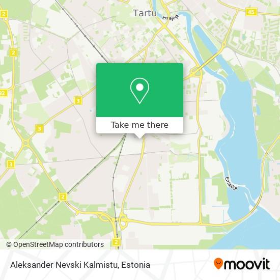 Aleksander Nevski Kalmistu map