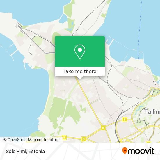 Sõle Rimi map