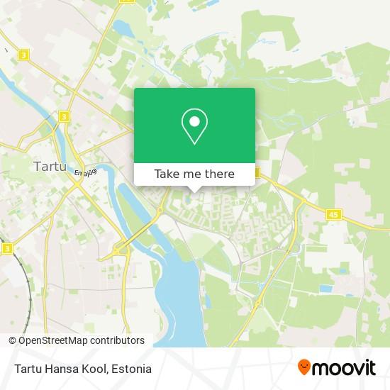 Tartu Hansa Kool map