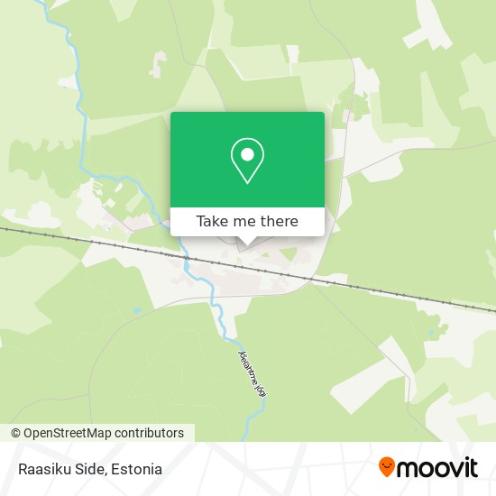 Raasiku Side map