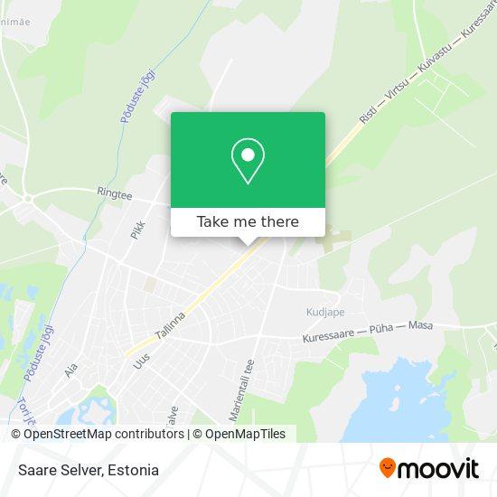 Saare Selver map