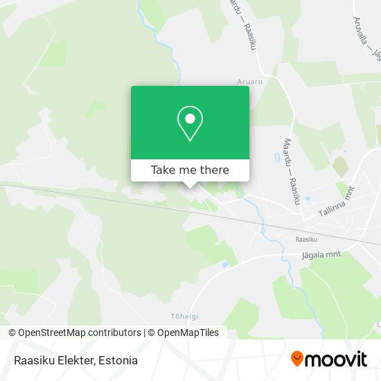 Raasiku Elekter map