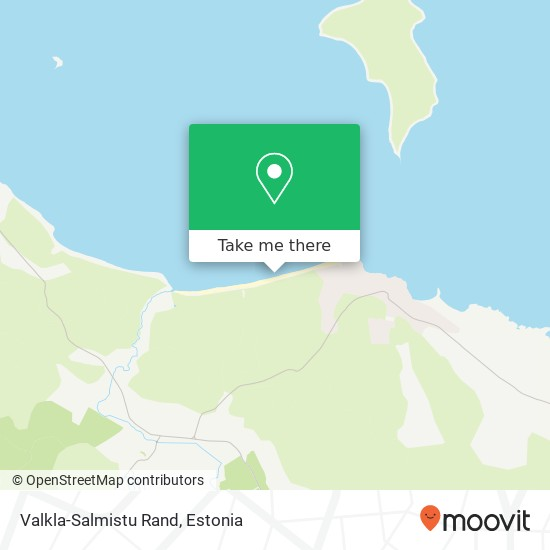 Valkla-Salmistu Rand map
