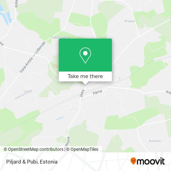 Piljard & Pubi map