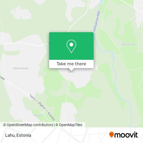 Lahu map