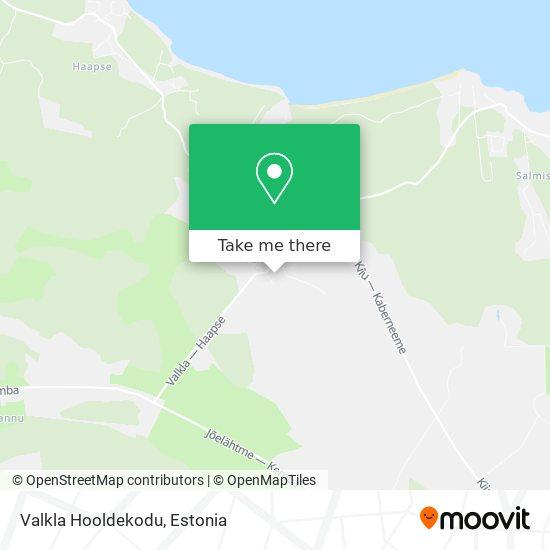 Карта Valkla Hooldekodu