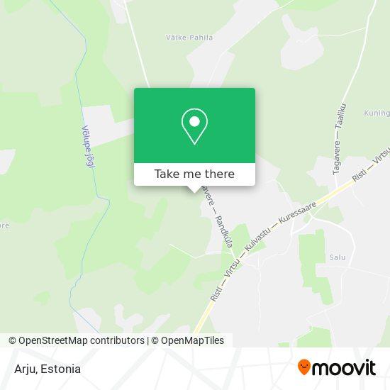 Arju map