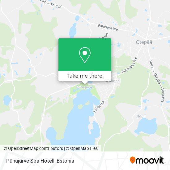Pühajärve Spa Hotell map