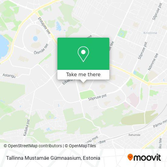 Tallinna Mustamäe Gümnaasium map