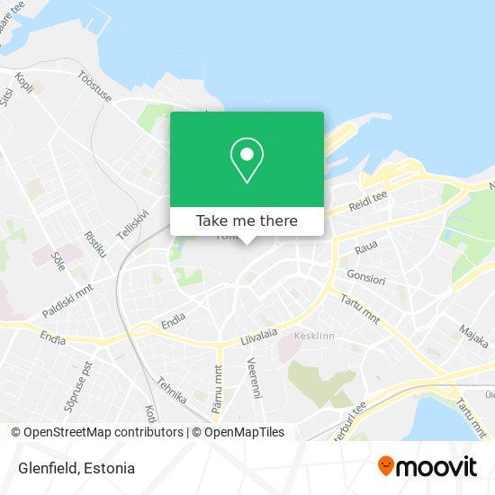 Glenfield map
