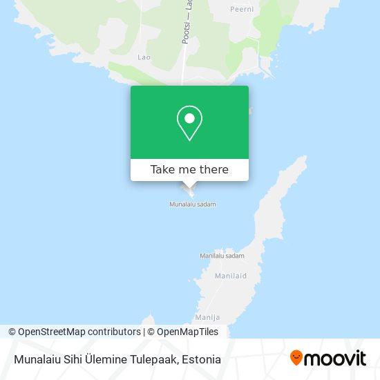 Munalaiu Liitsihi Ülemine Tulepaak map
